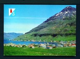 ICELAND  -  Seyoisfjordur  Unused Postcard - Iceland