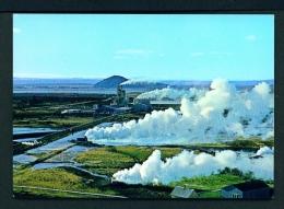 ICELAND  -  Myvatn  Diatomaceous Earth Plant  Unused Postcard - Iceland
