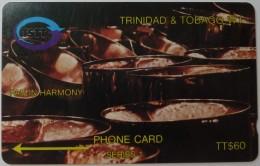 TRINIDAD & TOBAGO - GPT - 3CTTC - Pan In Harmony- Used - Trinidad & Tobago