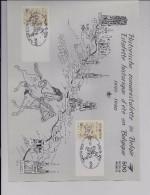 Belgie - Belgique 2350HKs2 - Herinneringsblad Historische Zomerestafette - Cartes Souvenir