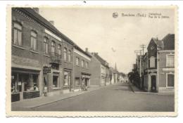 CPA - BERCHEM LEZ AUDENARDE - Rue De La Station - Statiestraat - Café - Nels   // - Kluisbergen