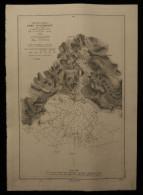( Bretagne ) Carte Marine Côte Ouest PORT D'AUDIERNE 1905 - Cartes Marines