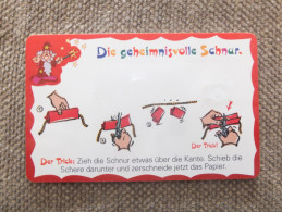 Germany, Deutschland, 2 Telefonkarten, 2 Phonecards, Magic Trick Card, Used - Jeux