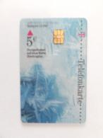 Germany, Deutschland, Telefonkarte, Phonecard, Durchsichtige Telefonkarte, Interesting Transparent Phone Card, Winter - Saisons