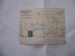 FATTURA UFFICIO ANNUNZI GIORNALI PUBBLICITà FIORETTI  VARESE  1934 - Italia