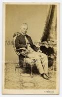 CDV G. Wünsh Photograph, Wien. Portrait D'un Homme. - Sin Clasificación