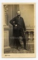 CDV Edouard Alker, Buduvar. Portrait D'un Homme. - Sin Clasificación
