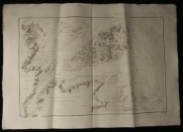 ( Bretagne Côtes D'Armor ) Carte Marine PLAN DE L'ILE BREHAT ( Ile De Brehat ) 1910 - Nautical Charts