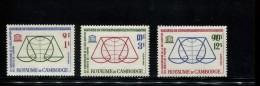 CAMBODJA MINT NEVER HINGED POSTFRISCH EINWANDFREI NEUF SANS CHARNIERE YVERT 141 142 143 - Cambodge