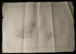 ( Normandie Manche  ) Carte Marine  DES ILES GUERNESEY, HERM ET SERK 1900 - Cartes Marines
