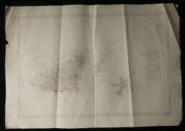 ( Normandie Manche  ) Carte Marine  DES ILES GUERNESEY, HERM ET SERK 1900 - Nautical Charts