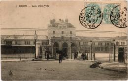 Dijon Gare De Dijon Ville  Belle Carte Postée - Dijon