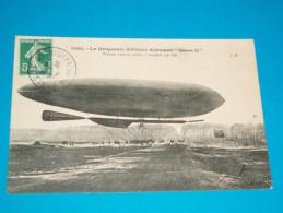 "Aviation ) N° 1082 - Le Dirigeable Militaire Allemand "" GROSS II ""  Année  - EDIT : J.H - Dirigeables"