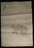 ( Normandie Manche  ) Carte Marine  ILE DE JERSEY ILE SERK 1905 - Nautical Charts