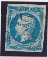 Oblitération D´Algérie GC 5017 (Bouffarik) TB. - 1853-1860 Napoleone III