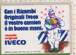 PO4879D# ADESIVO STICKERS - PUBBLICITA' RICAMBI CAMION IVECO - Camion