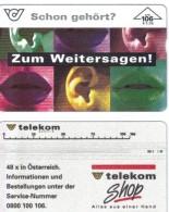 TWK03  ÖSTERREICH  TELEFONWERTKARTE Gebraucht  SIEHE ABBILDUNG - Oesterreich