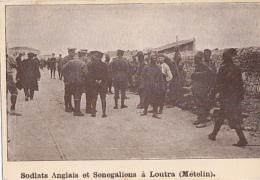 LOUTRA      METELIN        SOLDATS ANGLAIS ET SENEGALAIS - Grèce