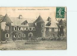 GIAT - Château De VATANGE Avec Petite Animation  - 2 Scans - France