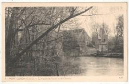 91 - MONTGERON - Le Moulin De Senlis Vu De L'Yerres - AP 3 - Montgeron