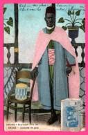 Dakar - Costume De Gala - Collection J. BENYOUMOFF - Imp. CH. COLAS & Cie - 1921 - Colorisée - Senegal