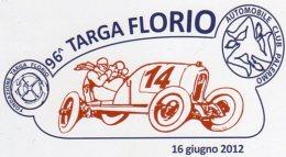 TERMINI  IMERESE (PA) - 2012 - 96^ TARGA  FLORIO - - Sport Automobile