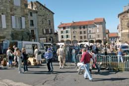 Pradelles (43) Foire D´aout 2008 - Vide-greniers - France