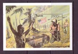 OUGANDA-UGANDA   1995 FIN DE LA GUERRE  YVERT N°B NEUF MNH** - 2. Weltkrieg
