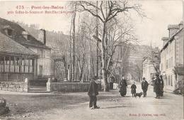 PONT LES BAINS Près La Source Et Marcillac TTB Timbrée - France