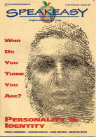Speakeasy Volume XXI N° 2 - 11/12/1998 -Who Do You Think You Are ? Personality & Identity - Livres, BD, Revues