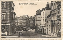 ST-JOSSE-TEN-NOODE : BRUXELLES - Rue Des Moissons Et Place Hauwaert - RARE CPA - St-Joost-ten-Node - St-Josse-ten-Noode