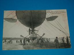 """Aviation ) Dirigeable """" N° 37 - La Nacelle Du Dirigeable  REPUBLIQUE - Année - EDIT : MALCUIT - Dirigibili"""