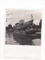 ZZ-18 -photo Photographie De Presse -bathyscaphe Triestre - - Bateaux