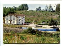 CP  BAINS LES BAINS (88) RESIDENCE DU PONT DE CONEY  PASSAGE DUNE PENICHE SUR LE CANAL DE L EST HAUTMOUGEY - Bains Les Bains