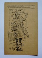 CORRESPONDANCE DES ARMEES DE LA REPUBLIQUE -   EMPRUNT   NATIONAL  1916 - Illustrateur Signé - Marcophilie (Lettres)