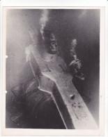 ZZ-21 -photo Photographie De Presse -bathyscaphe Triestre - Plongée Dumas Cousteau 1959 - Bateaux