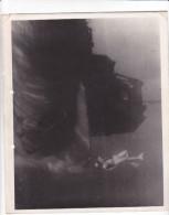 ZZ-22 -photo Photographie De Presse -bathyscaphe Triestre - Plongée  Cousteau 1960 - Bateaux