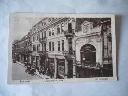 BUKAREST BUCAREST ROUMANIE LIPSCANI STRASS STR LIPSCANI CPA VOIR PHOTOS - Rumänien