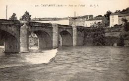 11 AUDE - CAMPAGNE Pont Sur L'Aude - Francia