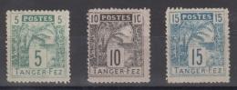 LOT TIMBRES TANGER-FEZ 1892 (MAROC) - Non Classificati