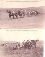 12 LA CAVALERIE CAMP DU LARZAC MANOEUVRES ATTELAGE  ARTILLERIE - La Cavalerie