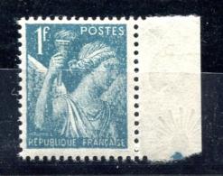 Type Iris - Yvert 650 Bord De Feuille Filigrané - T 281 - 1939-44 Iris