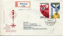7138 Czechoslovakia    Fdc  1962  Malaria,  Paludisme - Medicine