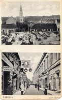 SERBIE PANCEVO DOUBLE VUES MARCHE + RUE - Serbia