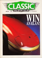 CLASSIC AND SPORTSCAR - APRIL 1987 - LOTUS ELAN - Trasporti