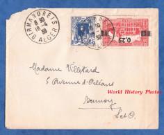 Enveloppe Ancienne - ALGER , Cachet BIRMANDREIS - 1939 - Voir Timbre - Algerien (1924-1962)
