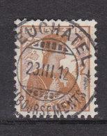 1909   N° 121   OBLITERATION CENTRALE  CATALOGUE ZUMSTEIN - Schweiz