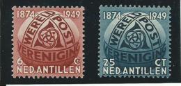 ANTILLES NEERLANDAISES: **, N°200 Et 201, TB - Antillen