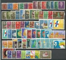 ANTILLES NEERLANDAISES: Obl., N°202 à 603, Ens. De 70 Tp, Qq Séries, Cote + 45 Euros, TB - Antillen