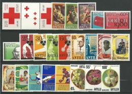 ANTILLES NEERLANDAISES: **, N°555x2 + 585/7 + 606/12 + 623/4 + 628/34 Et 684/6, TB - Curazao, Antillas Holandesas, Aruba